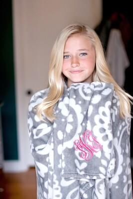Parker Paisley Blanket