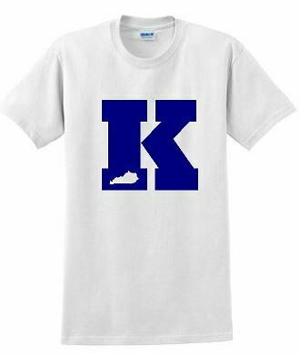 Big K with state Short Sleeve
