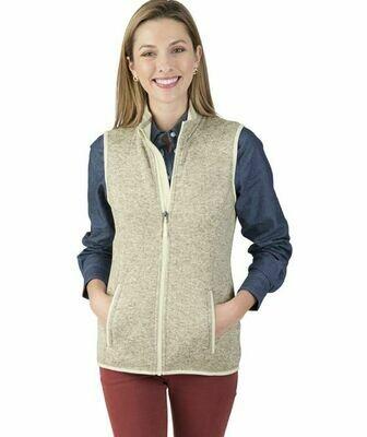 Ladies Pacific Heathered Vest