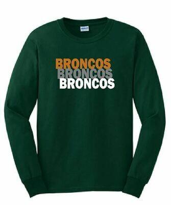 Broncos Long Sleeve T-shirt