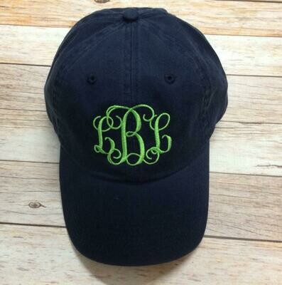 Monogram Ball Cap