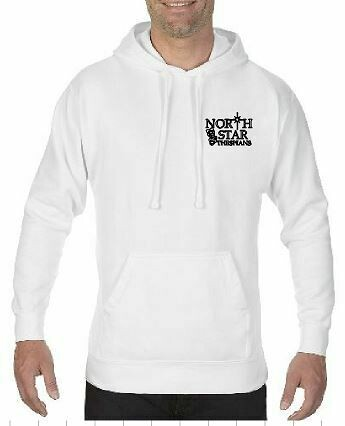 Comfort Color Hoodie with choice of left chest design