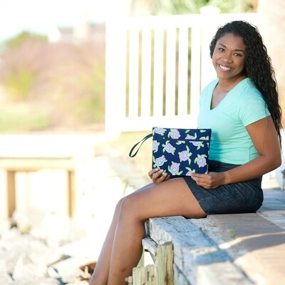 Turtle Bay Zip Pouch