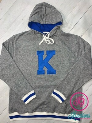 Big K Peppered Fleece Hoodie