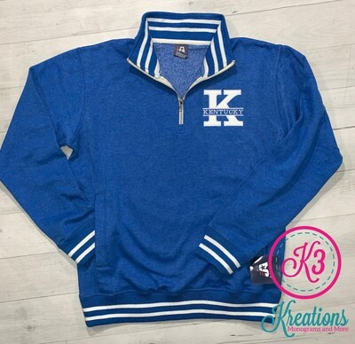 Kentucky Relay Fleece Quarter-Zip Sweatshirt