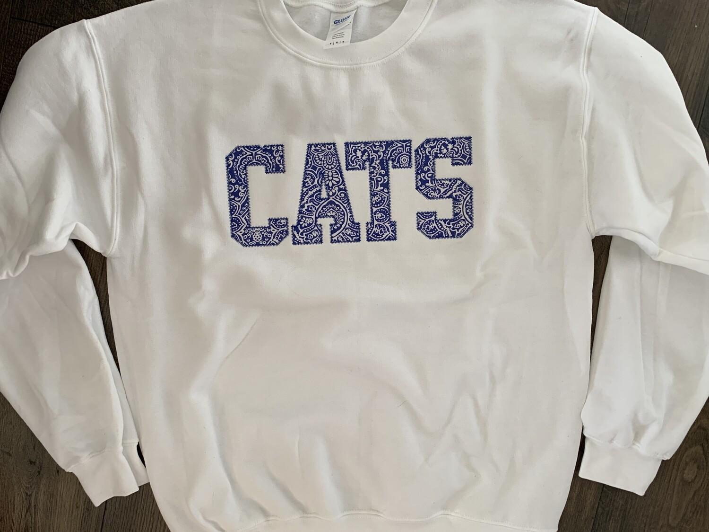 CATS White Crewneck Sweatshirt