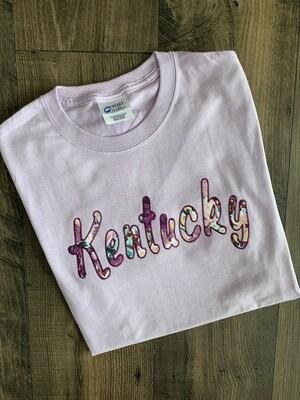 Kentucky Lavender Short Sleeve Tee