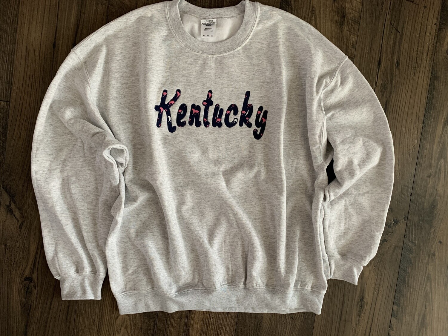 Kentucky Horse Sport Grey Crewneck Sweatshirt
