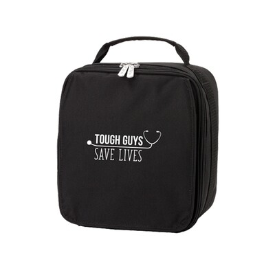 Tough Guys Save Lives Black Lunch Bag
