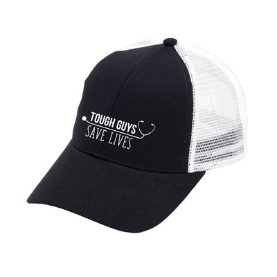 Tough Guys Save Lives Black Trucker Hat
