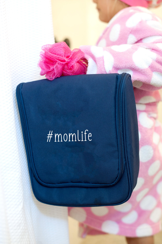 #momlife Hanging Travel Case