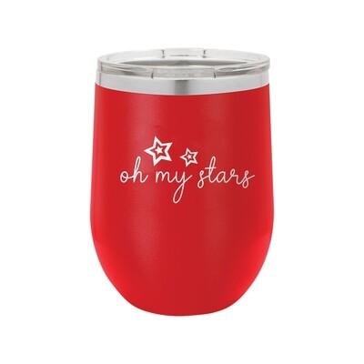 Red Oh My Stars Tumbler