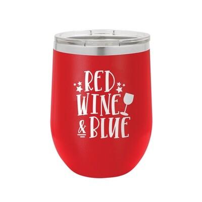 Red, Wine & Blue Tumbler