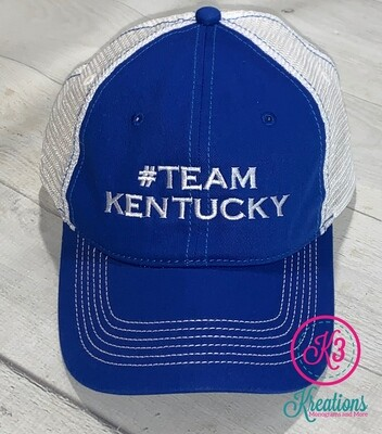 #TeamKentucky Mesh Back Hat