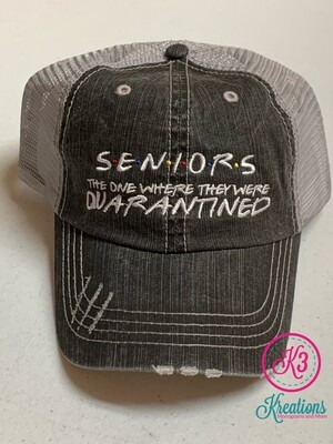 Seniors Quarantined Trucker Cap