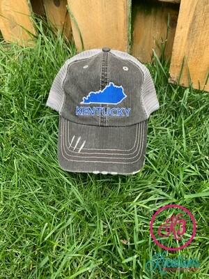 Kentucky State Trucker Cap
