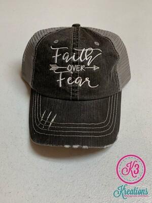 Faith Over Fear Trucker Cap
