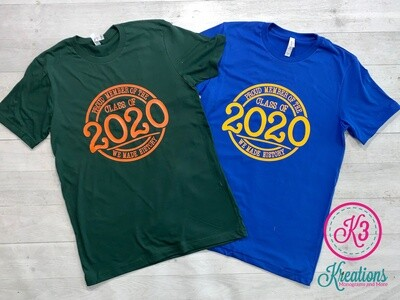 Proud Member of the Class of 2020 Short Sleeve Tee