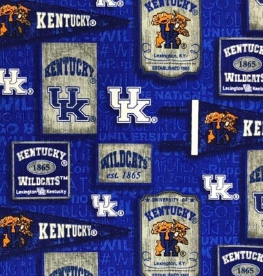 Kentucky Wildcats Cotton Fabric Face Mask