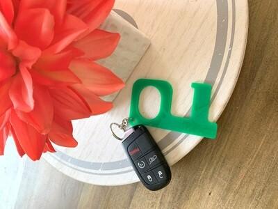 PRE-ORDER Green Hands-Free Keychain
