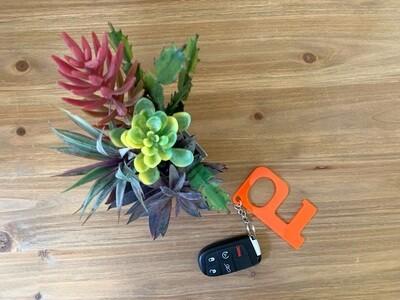 PRE-ORDER Orange Hands-Free Keychain