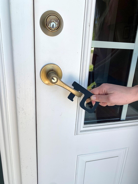 Black Hands-Free Keychain