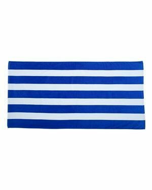 Royal & White Stripe Pool Towel (LPCS)