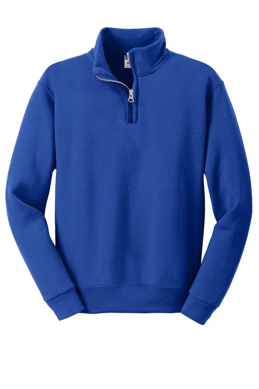 Youth JERZEES® 1/4-Zip Cadet Collar Sweatshirt - (LPC)