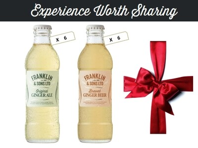 Franklin & Sons Ginger Collection (200ML x 12)