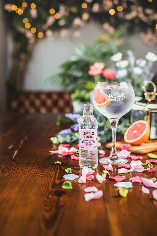 Franklin & Sons Pinkgrapefruit with Bergamot Tonic (Pack of 4)