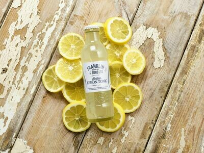 Franklin & Sons Sicilian Lemon Tonic (Pack of 8)