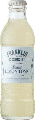 Franklin & Sons Sicilian Lemon Tonic (200ML x 12)