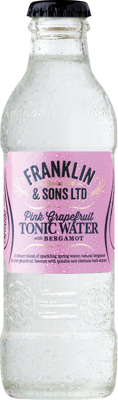 Franklin & Sons Pink Grapefruit with Bergamot Tonic (200ML x 12)