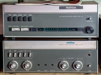 Amplificatore Revox A 78 MKII + Sintonizzatore A 76