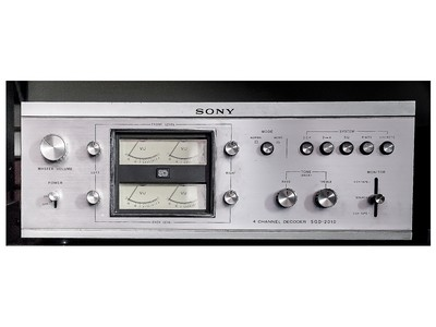 Amplificatore Sony SQD-2010