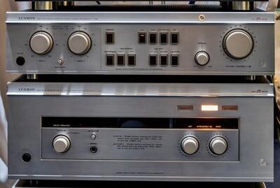 Amplificatore LUXMAN M-300 + Pre-amplificatore C-300