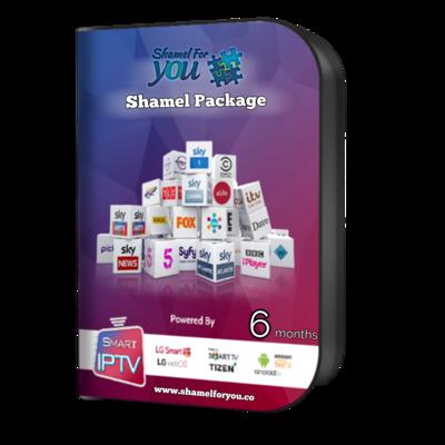 IPTV Shamel 4 You 6 months