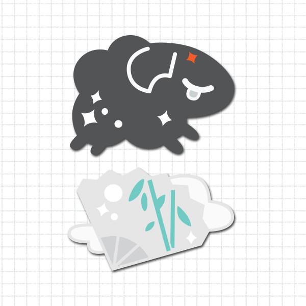 Sheep Dreams Pin Set