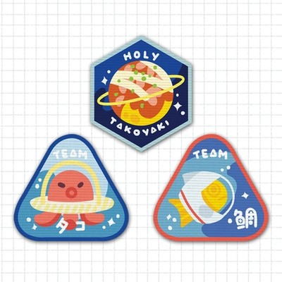 Space Team Patches
