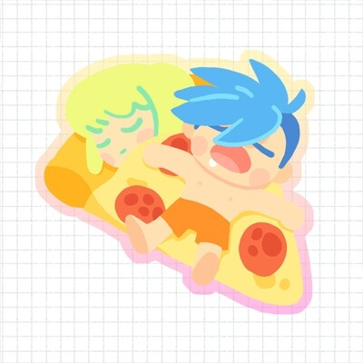 PROMARE Pizza Charm