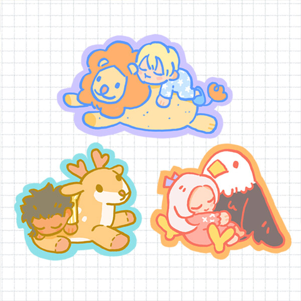 Stickers: FE3H Lullaby