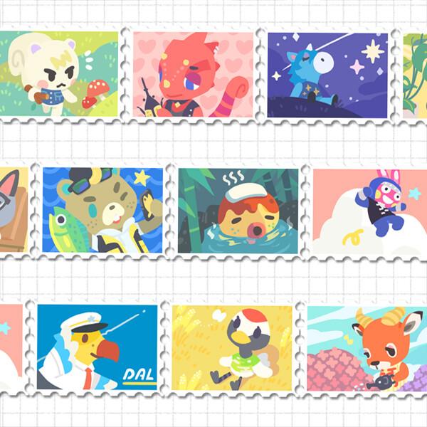 Stamp Tape: Island Life