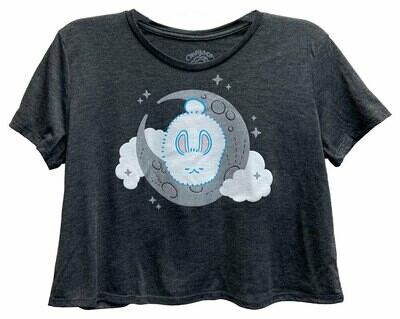 Moon Bunny Cropped T-Shirt