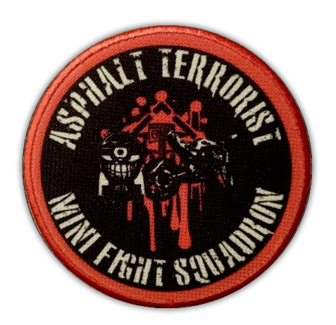 ASPHALT TERRORIST SQUADRON Patch