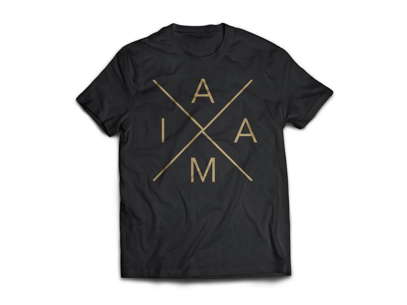 IAAM Cross. Black