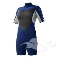 Body Glove Women's Navy Springsuit
