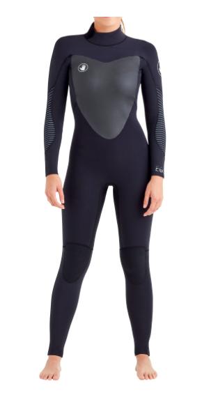 Body Glove Women's EOS Back-Zip 3/2mm Fullsuit