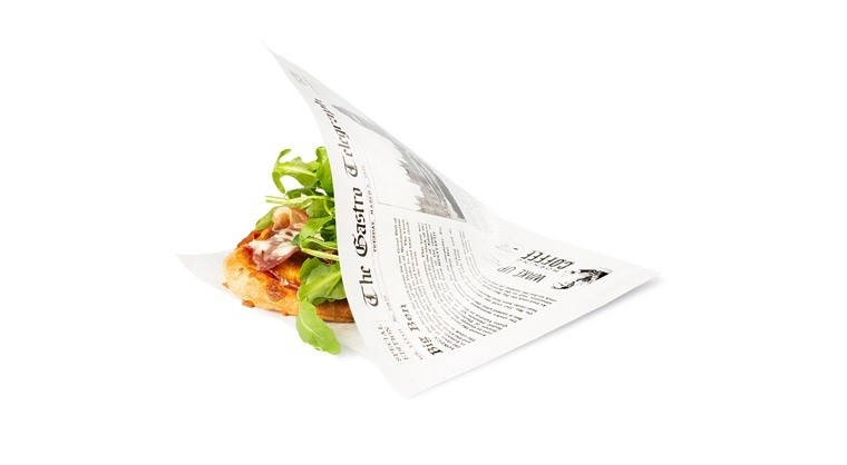 Vetvrij papieren zakje