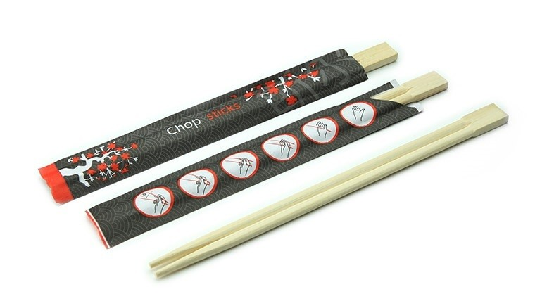 Baguettes en bambou 210 mm, emballées par pièces 1200