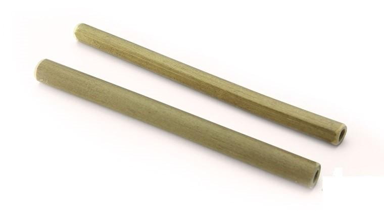 Bamboe rietje 10x150mm, verpakt per 25 stuks